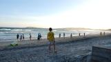 Madagascar beach football