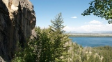 Road-trip-national-parks-USA-Grand-tetons-repelling-Jane-Lake-Wyoming-summer-2013