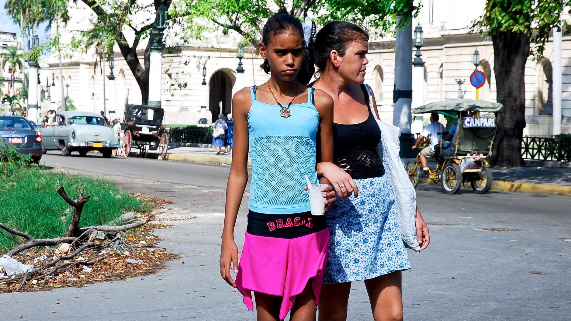 Cuban girls young