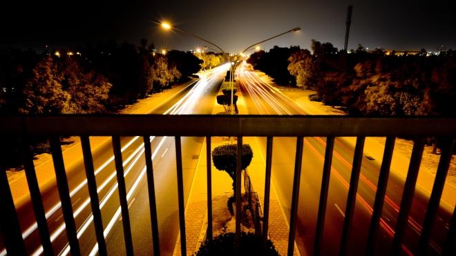 night-photography-Kuwait-Mishrif-Bridge-2013