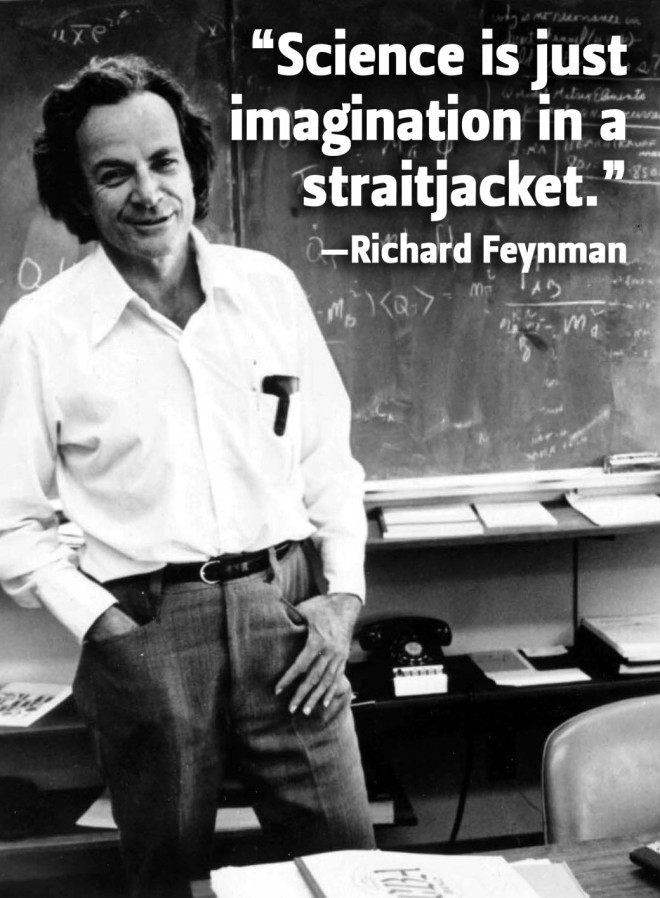Richard-Feynman-Imagination