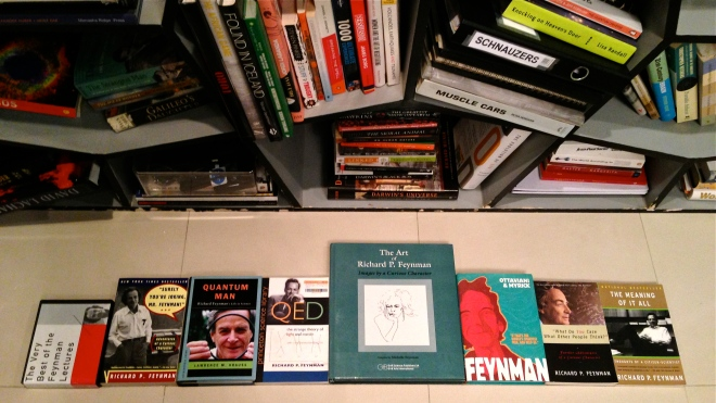 Richard-Feynman-books-collection2