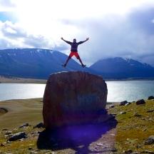 Mongolia-altai-peaks-lake-Khoton-jump-thegeneralist