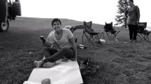 Mongolia-lake-khoton-camp-yoga-pose-astangasana-fail-thegeneralist