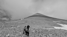 Mongolia-Tavan-bogd-national-park-hike-altai-mountains-Malchin-mountain-peak-uphill-thegeneralist