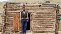 Mongolia-wood-house-portrait-kazakh-ulgi-thegeneralist