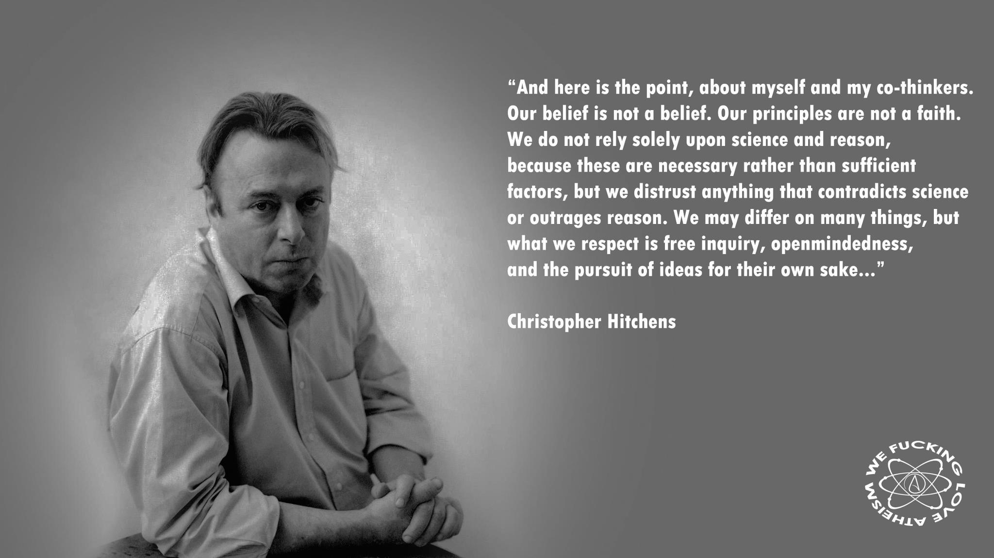 The Billboard: Christopher Hitchens – THE GENERALIST
